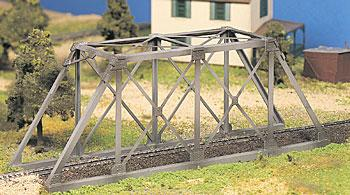 Bachmann Trestle Bridge Snap Kit -- O Scale Model Railroad Bridge -- #45975