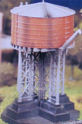 Bachmann Water Tower Kit -- O Scale Model Railroad Trackside Accessory -- #45978