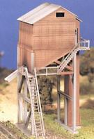 Bachmann Coaling Tower Kit O Scale Model Railroad Building #45979