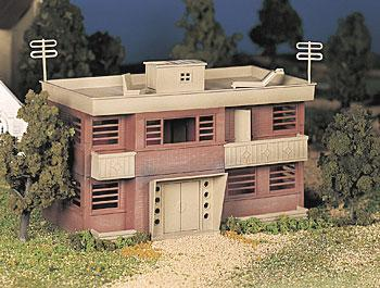 Bachmann Apartment Building Kit O Scale Model Railroad Building #45980