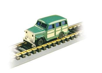Bachmann High Railer - Maintenance of Way Vehicles - Self Propelled -- 1950s 4x4 - HO-Scale