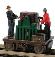 Bachmann HO Operating Gandy Dancer, Assorted Colors