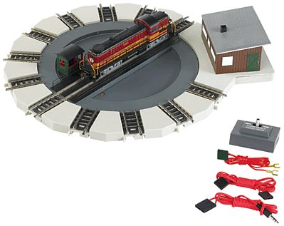Bachmann Motorized Turntable N Scale Model Railroad Operating Accessory #46799