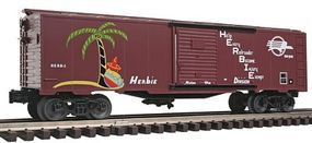 Bachmann 40 Boxcar Missouri Pacific Herbie O Scale Model Train Freight Car #47078