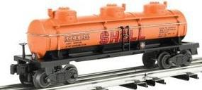 Bachmann 3-Dome Tank Car - 3-Rail Shell SCCX #1245 O Scale Model Train Freight Car #47108