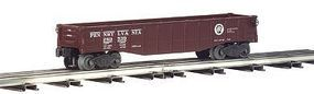 Bachmann Gondola with 6 Wooden Barrels - Pennsylvania O Scale Model Train Freight Car #47204
