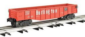 Bachmann Gondola with 6 Wooden Barrels O Scale Model Train Freight Car #47207