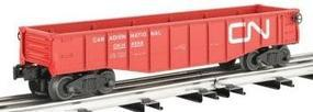 Bachmann Gondola with 6 Wooden Barrels - Canadian National O Scale Model Train Freight Car #47209