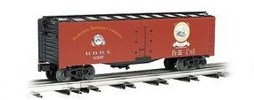 Bachmann 40' Refrigerator Car Berkshire Brewing Co. O Scale Model Train Freight Car #47463
