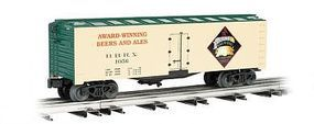 Bachmann 40' Refrigerator Car Amherst Brewing Co. O Scale Model Train Freight Car #47464