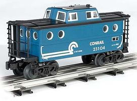 Bachmann N5C Porthole Caboose Conrail O Scale Model Train Freight Car #47708
