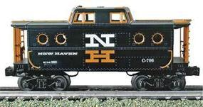 Bachmann N5C Porthole Caboose - 3-Rail New Haven #C-706 O Scale Model Train Freight Car #47714