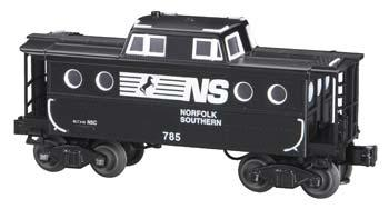 N5C Porthole Caboose - 3-Rail Norfolk Southern #785 O Scale Model Train Freight Car #47733
