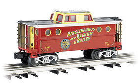 Bachmann WM Ringling Bros N5C Cab #2 O Scale Model Train Freight Car #47756