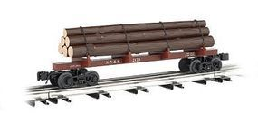 Bachmann Skeleton Log Car Spokane/Portland/Seattle O Scale Model Train Freight Car #47804