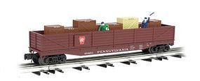 Bachmann Operating Cop/Robber Car Pennsylvania O Scale Model Train Freight Car #47901