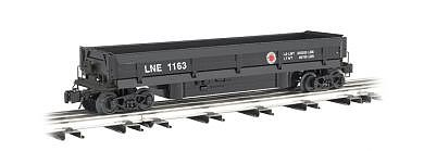 Bachmann Operating Coal Dump Car Lehigh/New England -- O Scale Model Train Freight Car -- #47953