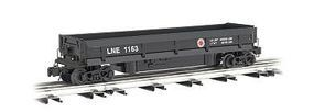 Bachmann Operating Coal Dump Car Lehigh/New England O Scale Model Train Freight Car #47953