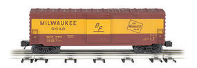 Bachmann Operating Box Car Milwaukee Road O Scale Model Train Freight Car #47978