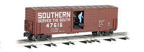 Bachmann Operating Boxcar - 3-Rail Southern Railway O Scale Model Train Freight Car #47979