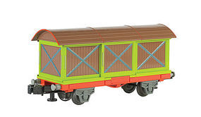 Bachmann WM Chuggington Box Car O Scale Model Train Freight Car #48001