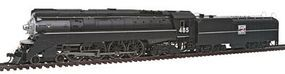 Bachmann 4-8-4 GS4 Western Pacific #485 HO Scale Model Train Steam Locomotive #50206