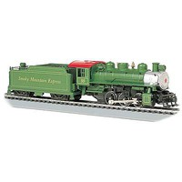 Bachmann USRA 0-6-0 w/Smoke/Short Haul Tender Smoky HO Scale Model Train Steam Locomotive #50402