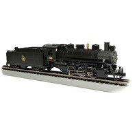 Bachmann USRA 0-6-0 w/Smoke/Short Haul Tender Jersey HO Scale Model Train Steam Locomotive #50404
