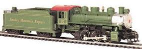 Bachmann USRA 0-6-0 w/Tend Smokey Mntn Express HO Scale Model Train Steam Locomotive #50440