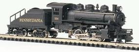 Bachmann 0-6-0 Switcher & Tender Pennsylvania N Scale Model Train Steam Locomotive #50564