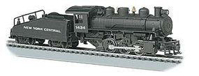 Bachmann USRA 0-6-0 w/Smoke Tender NYC #1434 HO Scale Model Train Steam Locomotive #50605