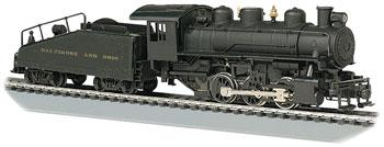 Bachmann USRA 0-6-0 Tender/Smoke Baltimore & Ohio -- HO Scale Model Train Steam Locomotive -- #50612