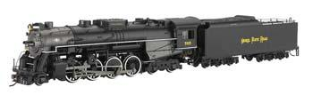 Bachmann 2-8-4 Berkshire w/DCC - Nickel Plate Road #765 -- HO Scale Model Train Steam Locomotive -- #50906