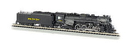Bachmann Berkshire DCC Nickel Plate #759 N Scale Model Train Steam Locomotive #50952