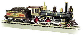 Bachmann 4-4-0 American w/o DCC UP #119 w/Wood Load HO Scale Model Train Steam Locomotive #51002