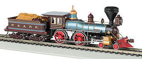 Bachmann 4-4-0 American w/o DCC W&ARR Texas HO Scale Model Train Sream Locomotive #51004