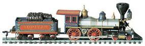 Bachmann Amer 4-4-0 w/Tend Jupiter CP #60 HO Scale Model Train Steam Locomotive #51124