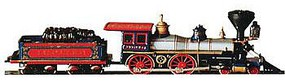 Bachmann 4-4-0 American CP Jupiter N Scale Model Train Steam Locomotive #51174