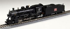 Bachmann 2-8-0 Rock Island #2123 with DCC HO Scale Model Train Steam Locomotive #51317