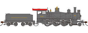 Bachmann 4-6-0 DCC with sound Pennsylvania RR #7080 HO Scale Model Train Steam Locomotive #51401