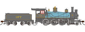 Bachmann Baldwin 52 Driver 4-6-0 DCC Sound C&O #377 HO Scale Model Train Steam Locomotive #51404