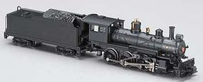 Bachmann Baldwin 4-6-0 Loco with Tender Undecorated Black N Scale Model Train Diesel Locomotive #51451