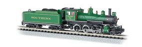 Bachmann 4-6-0 Baldwin Southern #1012 N Scale Model Train Steam Locomotive #51458
