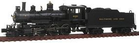 Bachmann 4-6-0 Baldwin Baltimore & Ohio #2020 N Scale Model Train Steam Locomotive #51461