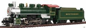 Prairie 2-6-2 with Tender Southern Green HO Scale Model Train Steam Locomotive #51504