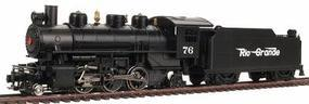 Bachmann Prairie 2-6-2 with Tender Rio Grande Flyer Green HO Scale Model Train Steam Locomotive #51517