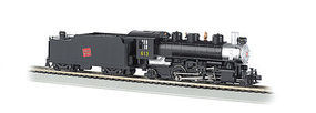 Bachmann 2-6-2 with Tender Canadian National #613 HO Scale Model Train Steam Locomotive #51524