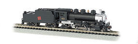 Bachmann 2-6-2 w/Tender Canadian National #613 N Scale Model Train Steam Locomotive #51563