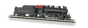 Bachmann Prairie 2-6-2 Tender Pennsylvania RR #2761 N Scale Model Train Steam Locomotive #51564