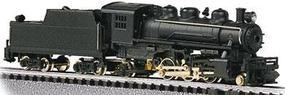 Bachmann 2-6-2 Prairie Painted, Unlettered N Scale Model Train Steam Locomotive #51598